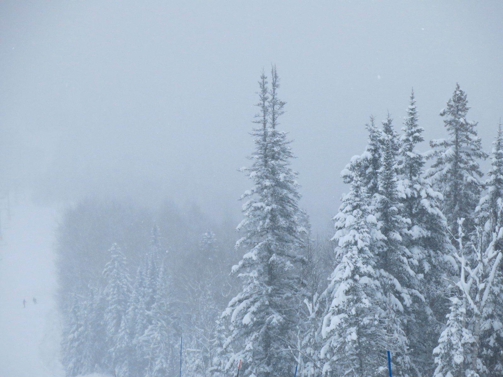 La première bordée de neige tombera mardi le 12 novembre