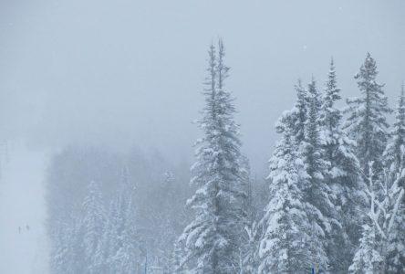 15 centimètres de neige intermittente à prévoir cette semaine