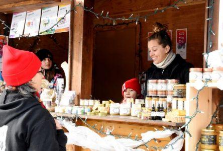 Place au Marché de Noël de Baie-Saint-Paul