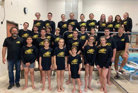 Belles performances de nos équipes de natation à Saint-Foy