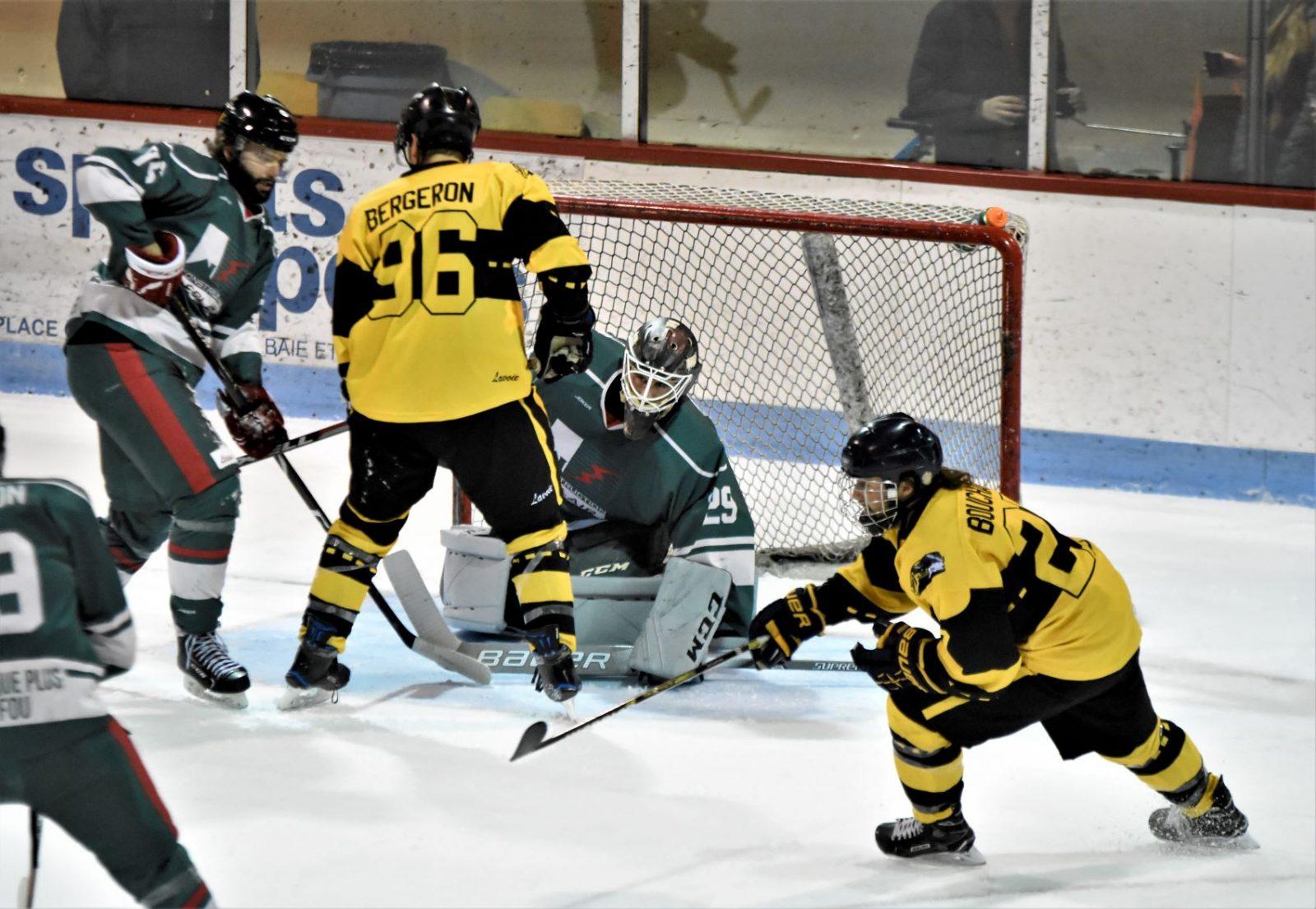 Hockey sénior : Saint-Bruno a pris toute une revanche sur Charlevoix