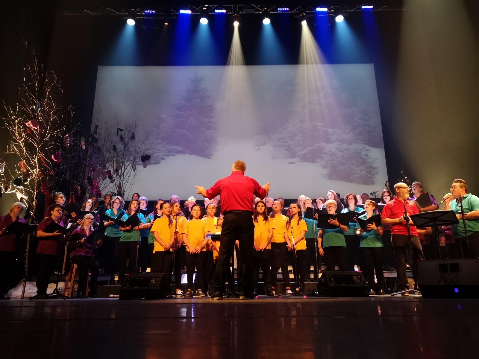 La Chorale de Sainte-Agnès généreuse une fois de plus