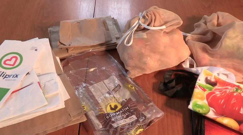 (capsule 8) Virage vert Charlevoix : bien récupérer et réutiliser les sacs et emballages en plastique souple
