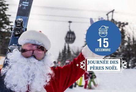 Journée des Pères Noël au Massif de Charlevoix