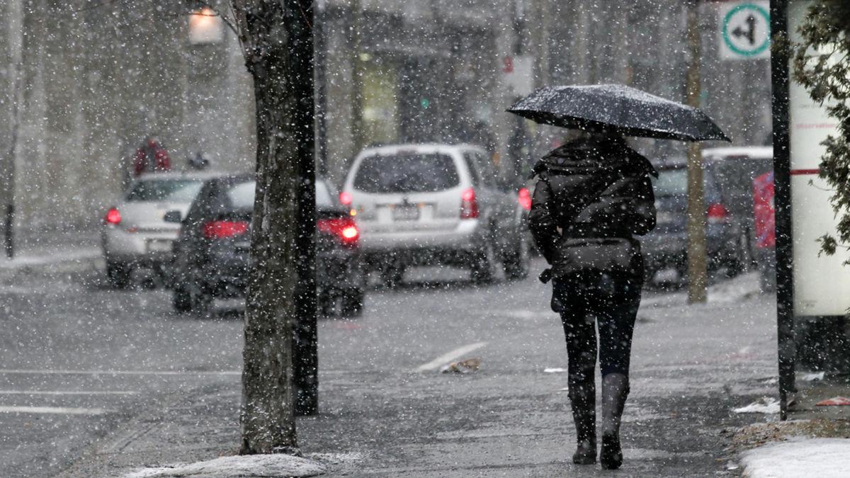 Avertissement de pluie verglaçante