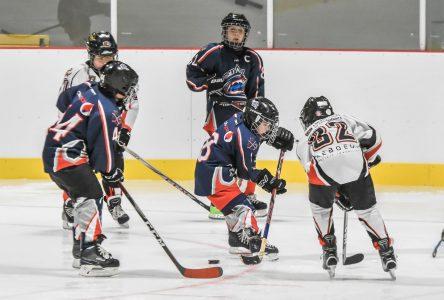 Hockey mineur: un beau weekend avant les Fêtes