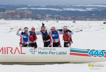 Le Pharmacie Marie-Pier Labbé l'emporte… à la course