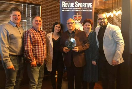 Patrice Savard honoré par la Revue Sportive