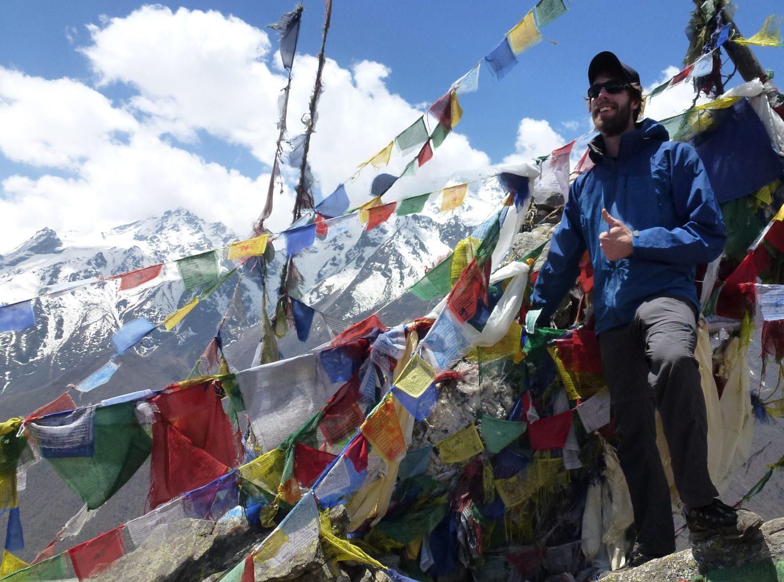 Sur les treks du Népal avec Pierre-Luc Côté