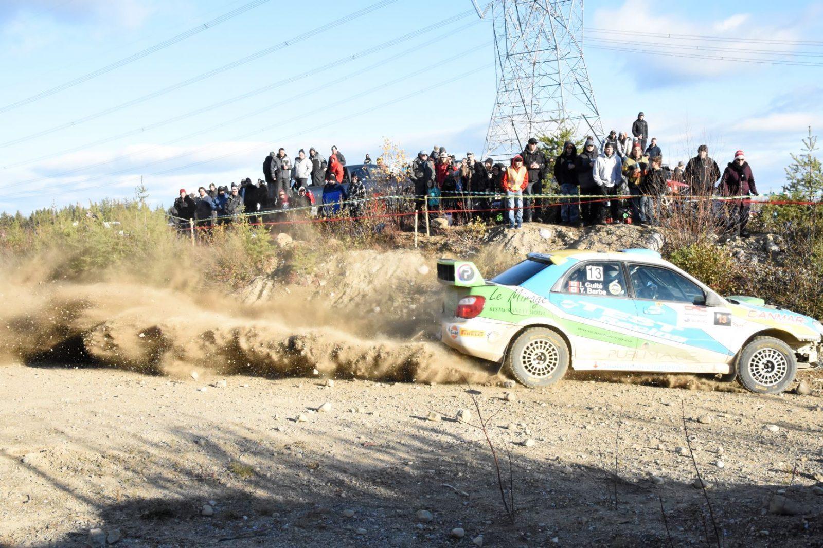 Le Rallye de Charlevoix attire surtout des Québécois