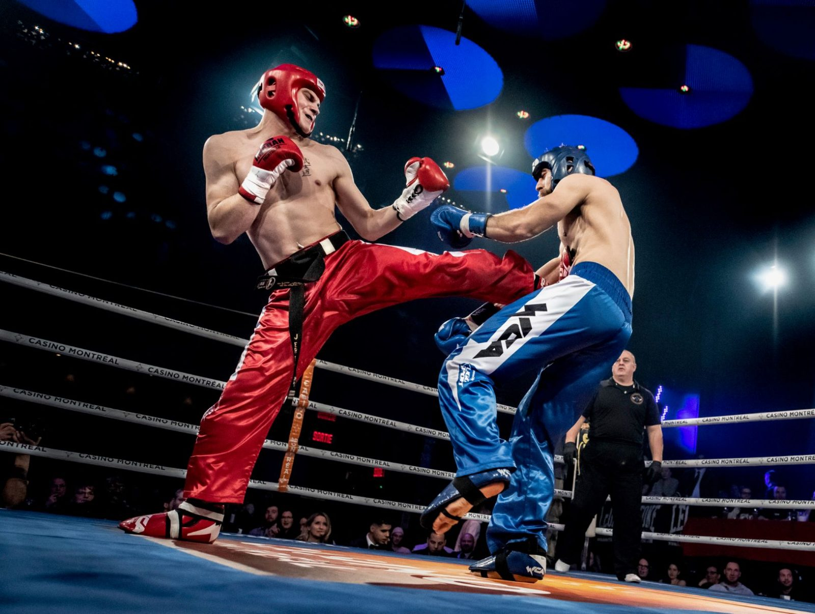 Un gala de kick-boxing à Baie-Saint-Paul ?
