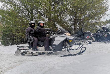 Amoindrir les risques de la motoneige