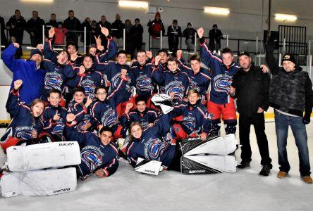 Hockey mineur: un beau retour au jeu après les Fêtes
