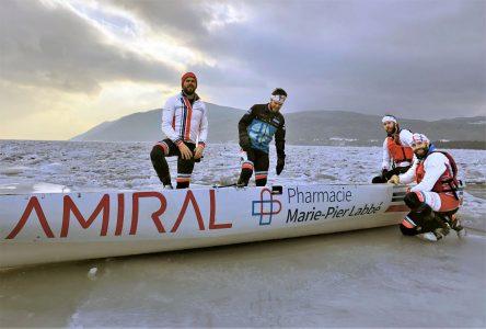 Un objectif de trois podiums cette saison pour le Amiral Agence Web/Pharmacie Marie-Pier Labbé inc