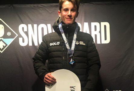 L'argent en snowboard cross pour James Savard Ferguson