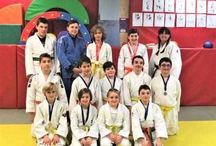 Huit médailles à Beauport pour le club de judo Sakura