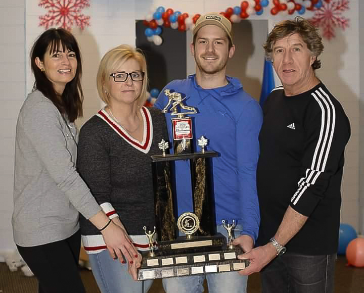 Les Desmeules-Simard remportent le tournoi Famille