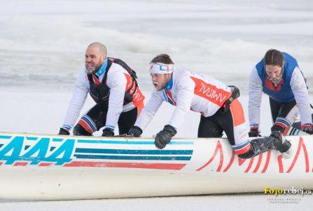Le canot AAW/Marie-Pier Labbé inc avantagé pour la prochaine course à Rimouski