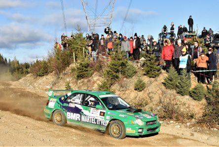 Rallye de Charlevoix: une spéciale à Saint-Urbain