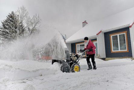 Une autre tempête de neige est attendue dans Charlevoix