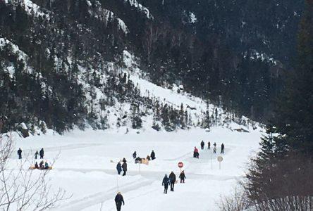 Journée d'hiver de la SÉPAQ: 400 personnes prennent d'assaut les parcs charlevoisiens