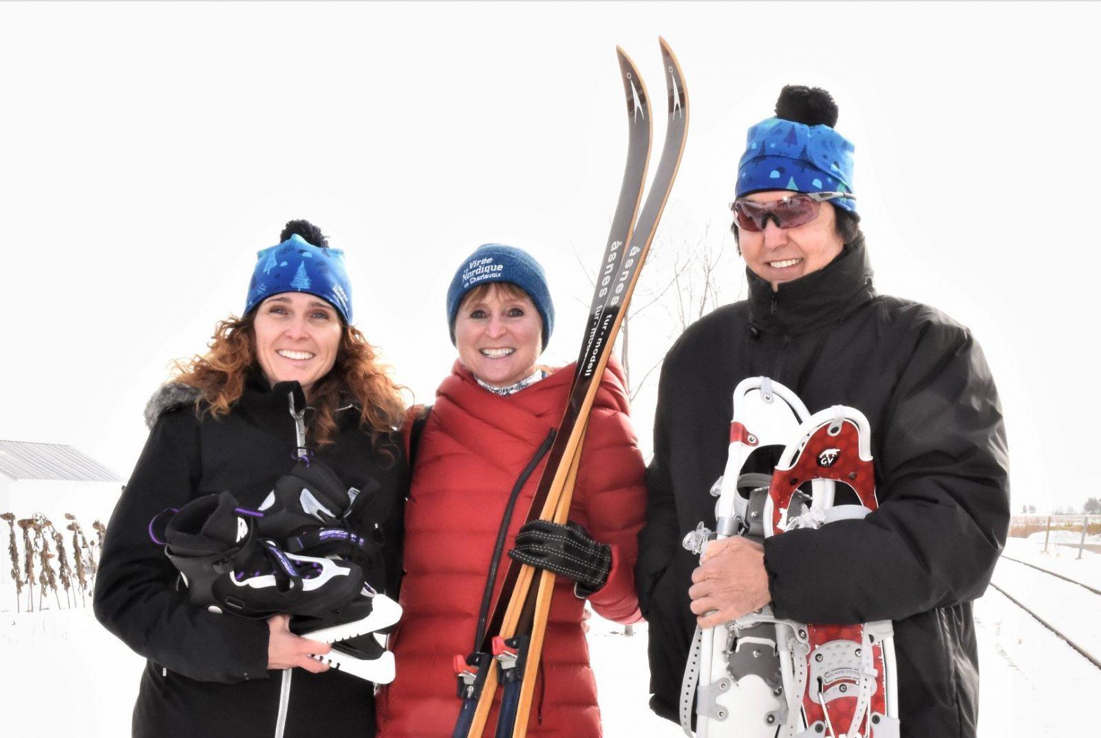 La Virée nordique multiplie les bonnes raisons de jouer dehors dans Charlevoix cet hiver
