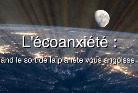 (capsule 16) Virage vert Charlevoix l'écoanxiété : quand le sort de la planète vous angoisse