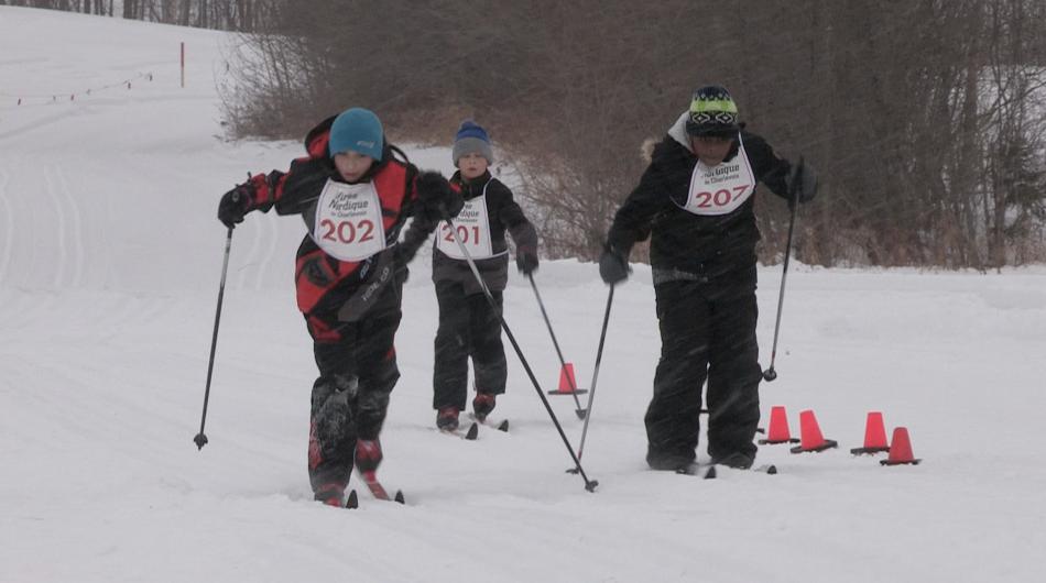 (vidéo) Le Triathlon nordique des jeunes: un grand succès !