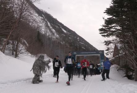 (vidéo et album photos) Virée Nordique : la course du Yeti de la Vallée des glaces