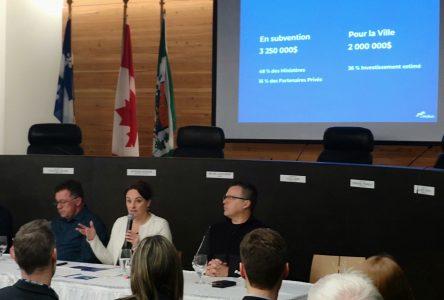Projet «La Malbaie»: les contribuables devront assumer deux millions $