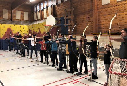 Des archers nouvellement certifiés