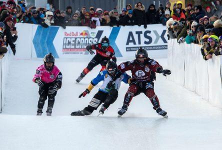 Red bull Ice Cross : un premier championnat haut en couleurs