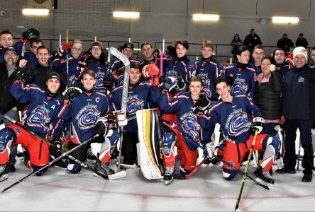 Tournoi de hockey de Baie-Saint-Paul: une première victoire des Rorquals midget