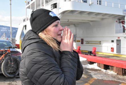Tempête à la Grande Traversée: Anie Harvey n'aurait pas fait les choses autrement