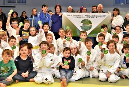Le club de Judo Sakura lutte contre l'intimidation