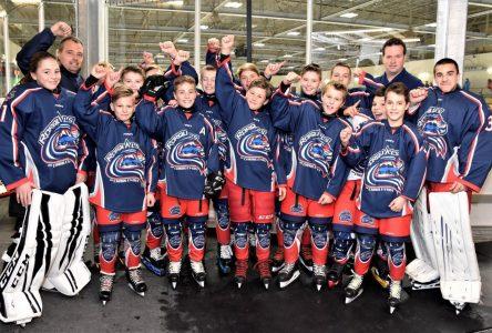 Les Rorquals pee-wee BB passent en demi-finale du Tournoi international de hockey pee-wee