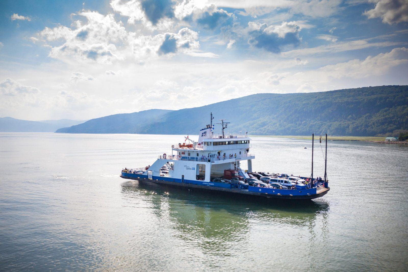 Les traversées sont annulées à L'Isle-aux-Coudres