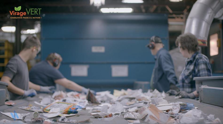 Problème de tri des matières recyclables à la MRC de Charlevoix