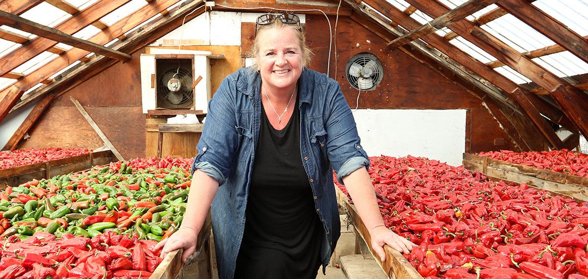 Une agricultrice d'ici saluée à Montréal en lumière