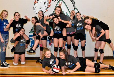 Volleyball: deux victoires à Thetford Mines pour Le Météore