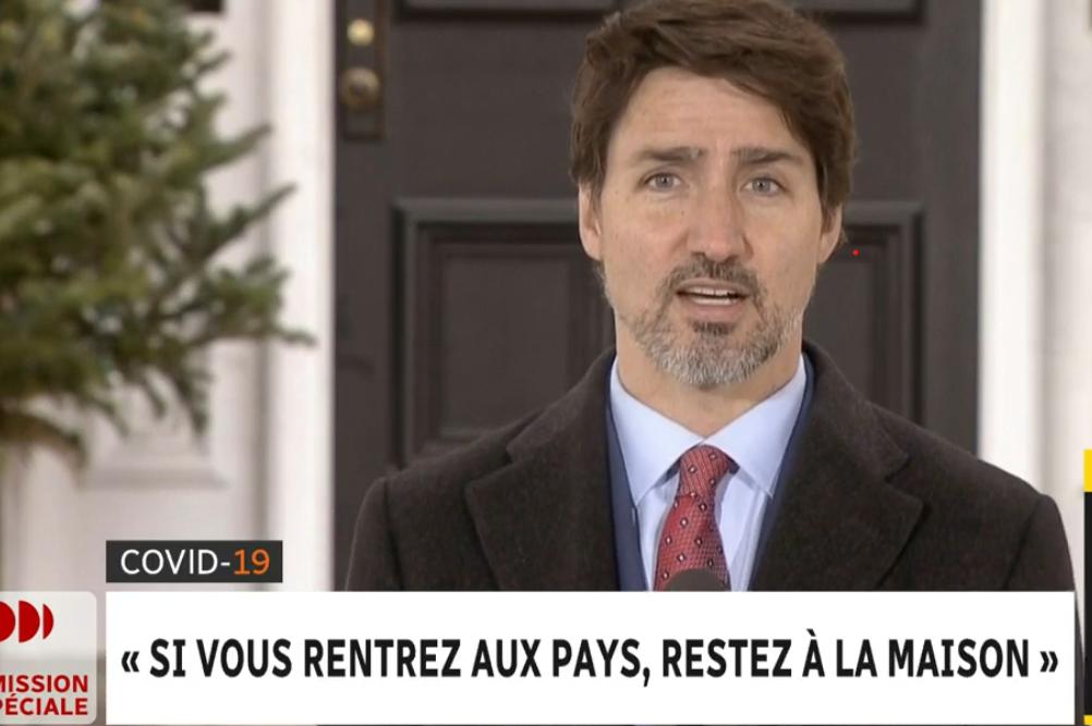 Les délais seront réduits au minimum pour envoyer les prestations selon Justin Trudeau