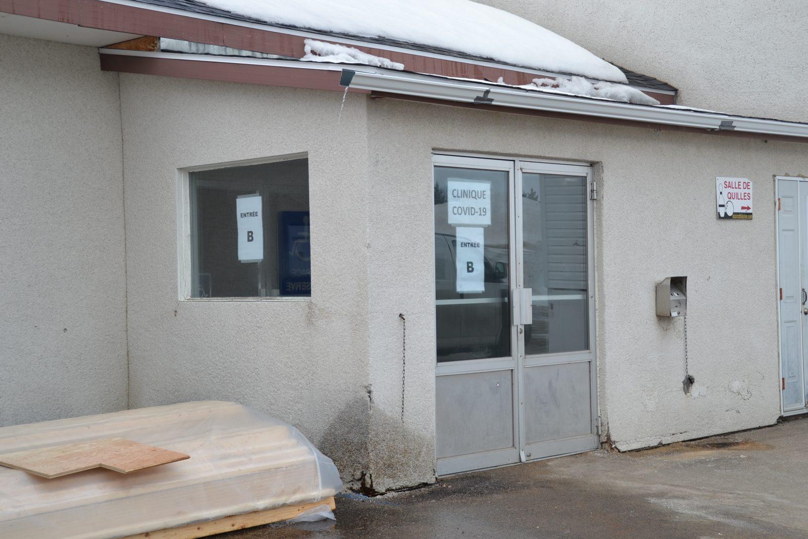 L'aménagement de la clinique désignée COVID-19 se poursuit à Saint-Hilarion