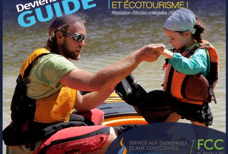 Le programme de guide en tourisme d'aventure commence le 9 mars