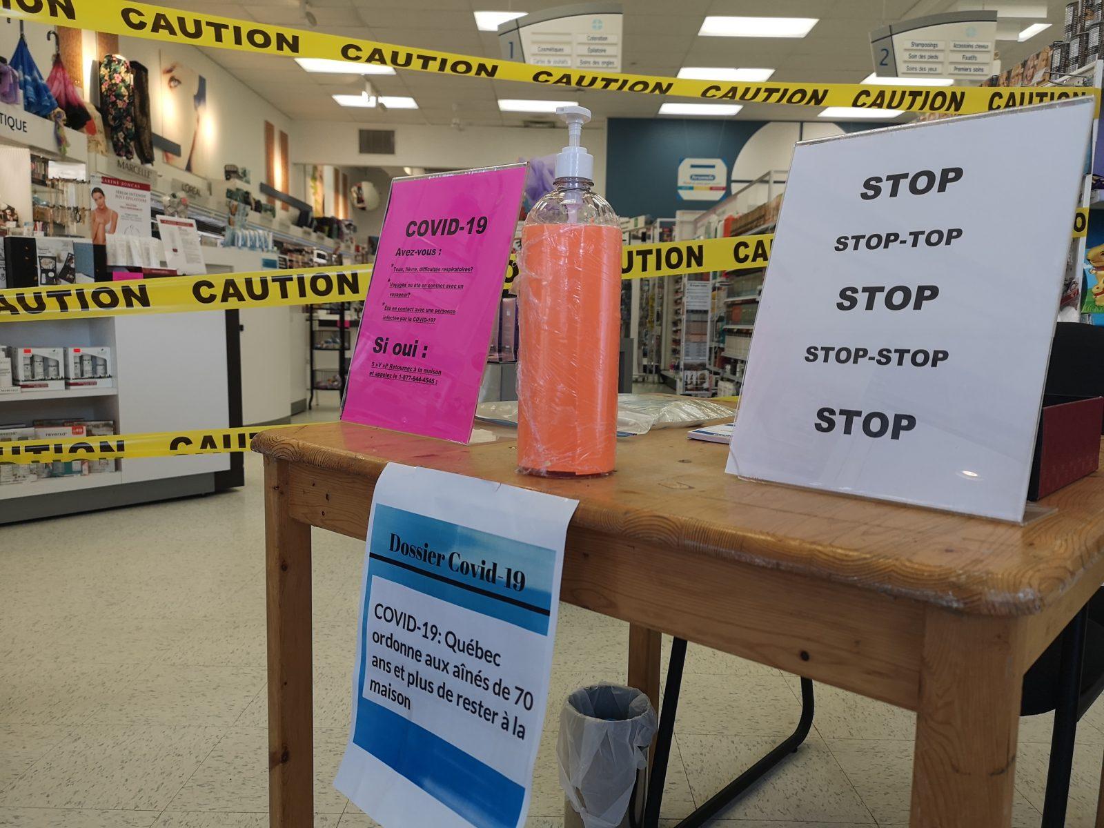 Les pharmacies s'adaptent pour contrer la COVID-19 et servir leurs clients