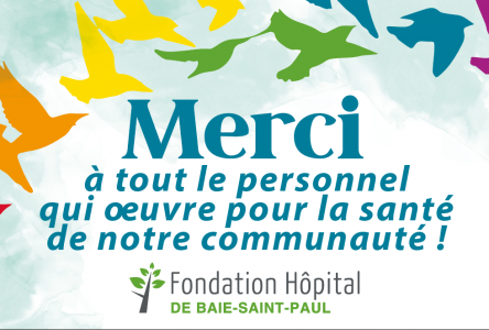 COVID-19: la Fondation de l'Hôpital de Baie-Saint-Paul joue son rôle