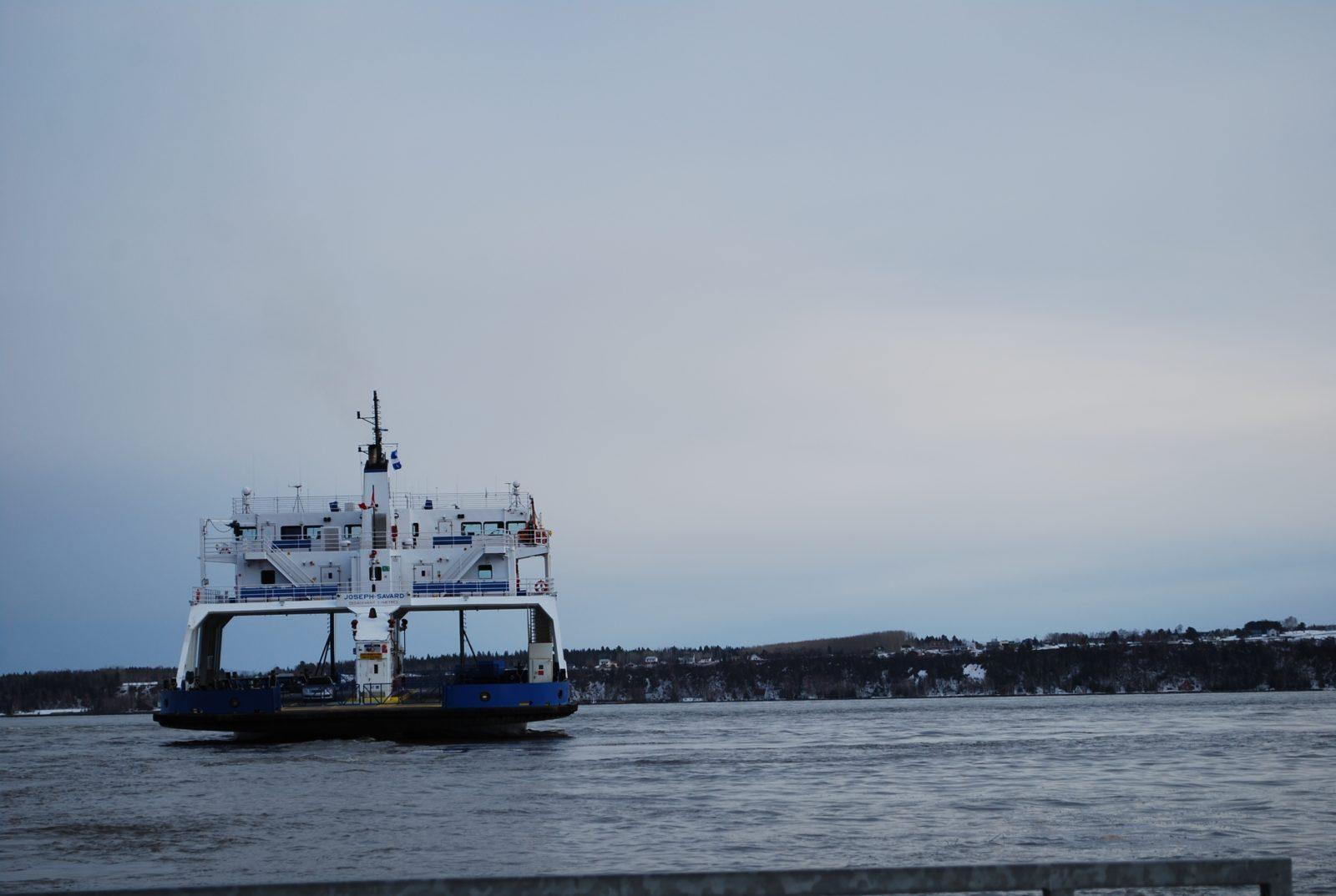 (Mise à jour) Un traversier porte secours à deux personnes à la mer à Baie-Saint-Paul