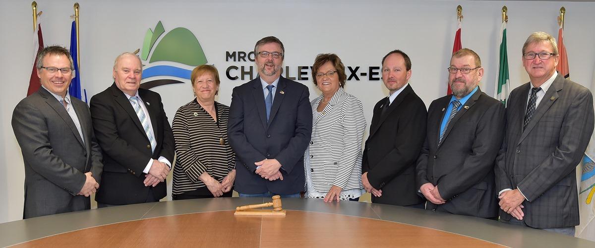 Les élus de la MRC de Charlevoix-Est saluent Sylvain Tremblay