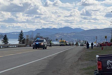 Une collision implique cinq personnes dont deux enfants