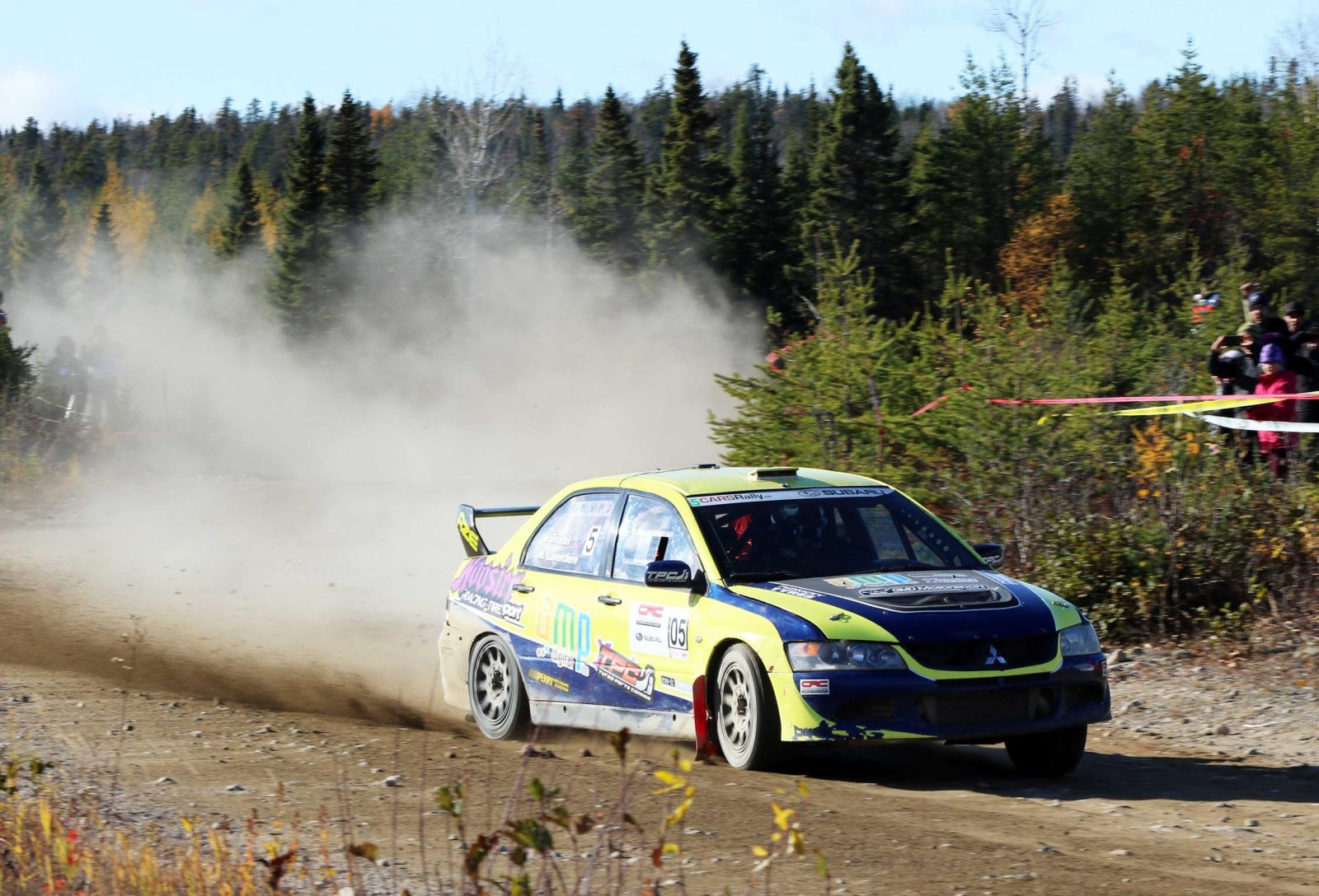 Le Rallye de Charlevoix garde le cap et se tiendra du 23 au 25 octobre