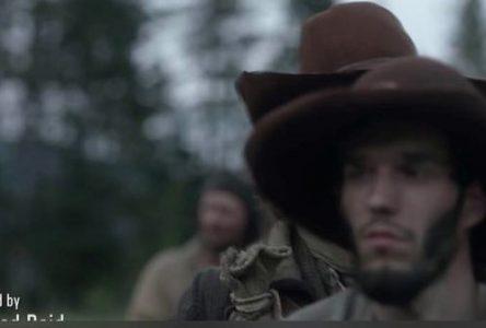 Maxime Jodoin dans la série « Barkskins »